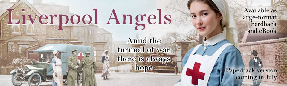 banner for Liverpool Angels by Lyn Andrews
